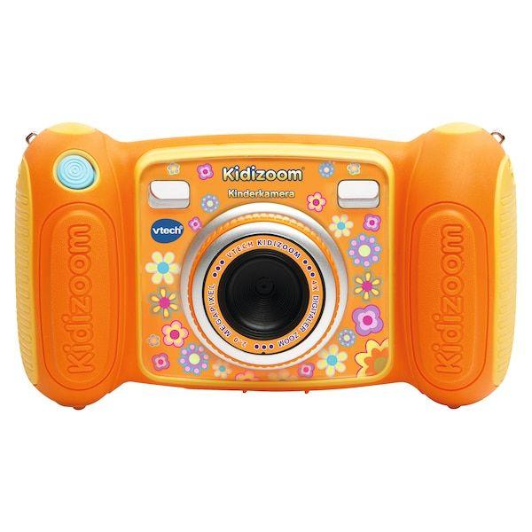 """VTECH S41006 Kiddi Cam Kinderkamera 2MP 1,8"""" Farbdisplay robustes Gehäuse orange"""