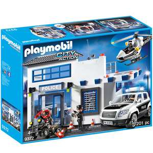 PLAYMOBIL City Action - Polizeistation 9372