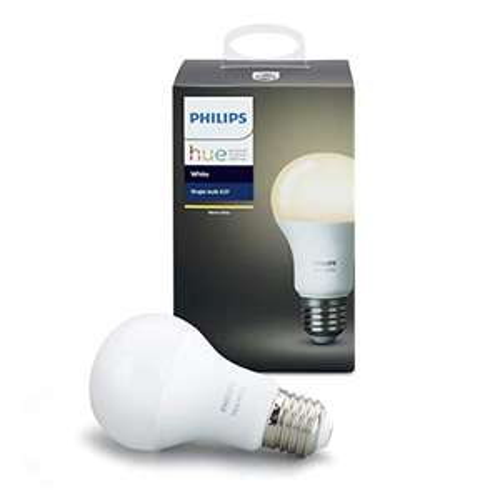[Amazon Prime] Philips Hue White E27 LED Lampe (806 lm) Erweiterung, dimmbar, warmweiß, App, Amazon Alexa / inkl. Bluetooth für 15,99 €