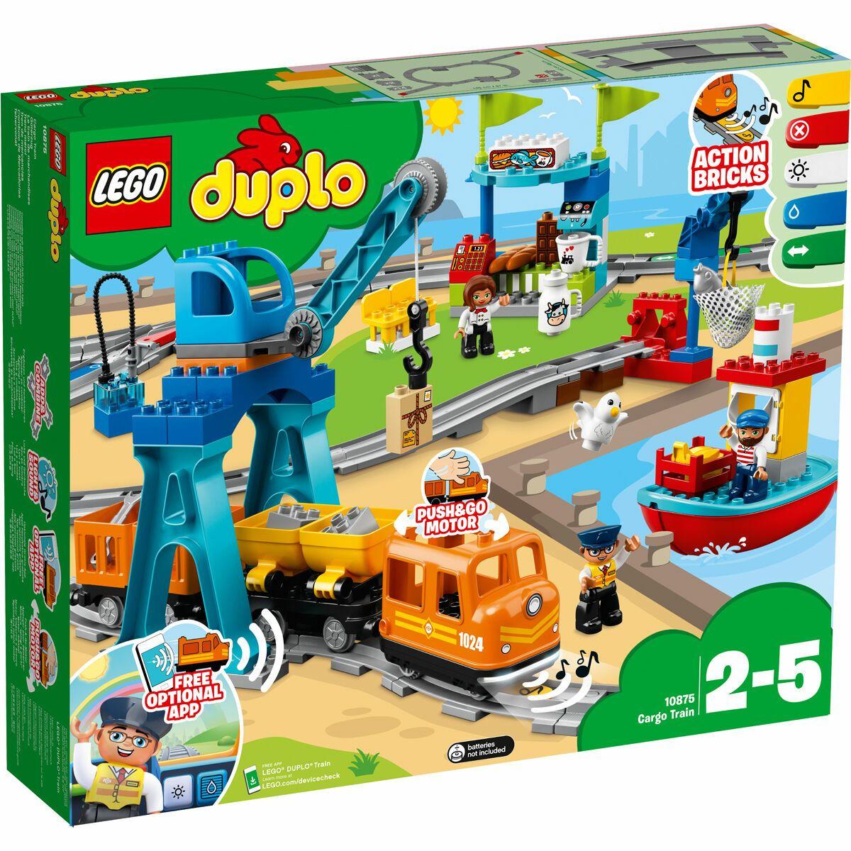 Lego Duplo 10875 Güterzug Galeria Kundenkartendeal