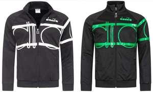 """Diadora Herren Jacke """"80s Bold"""" für 15,15€ + 3,95€ VSK (In 2 Farbvarianten verfügbar, Größe S + M) [SportSpar]"""