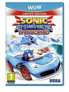 [UK] Sonic & All-Stars Racing Transformed Special Edition Wii U für 24,19€ inkl. Versand @ ShopTo.net