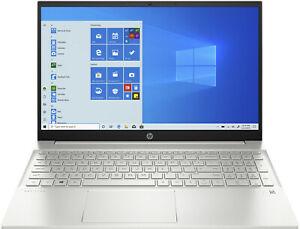 [EBAY] HP Pavilion 15-eg0300ng, Notebook mit 15,6 Zoll Display, Core™ i5 - 1135G7 Prozessor, 8 GB RAM, 512 GB SSD, Iris Xe Graphics, Silber