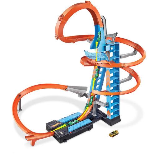 "[galeria.de] Hot Wheels Track-Set ""Himmelscrash-Turm"", inkl. 1 Spielzeugauto"
