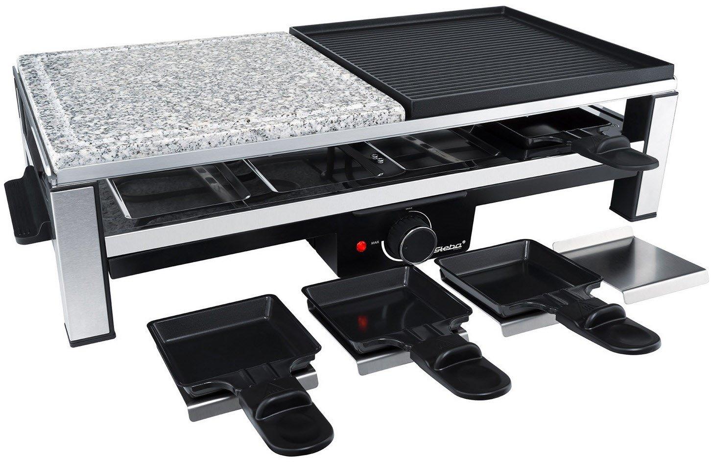 Raclette Steba RC108 mit 2000 Watt für 8 Personen