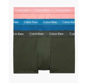 3ER-PACK Calvin Klein HÜFT-SHORTS - COTTON STRETCH