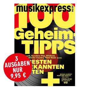 Spezialabo Musikexpress 3 Hefte für 9,95€
