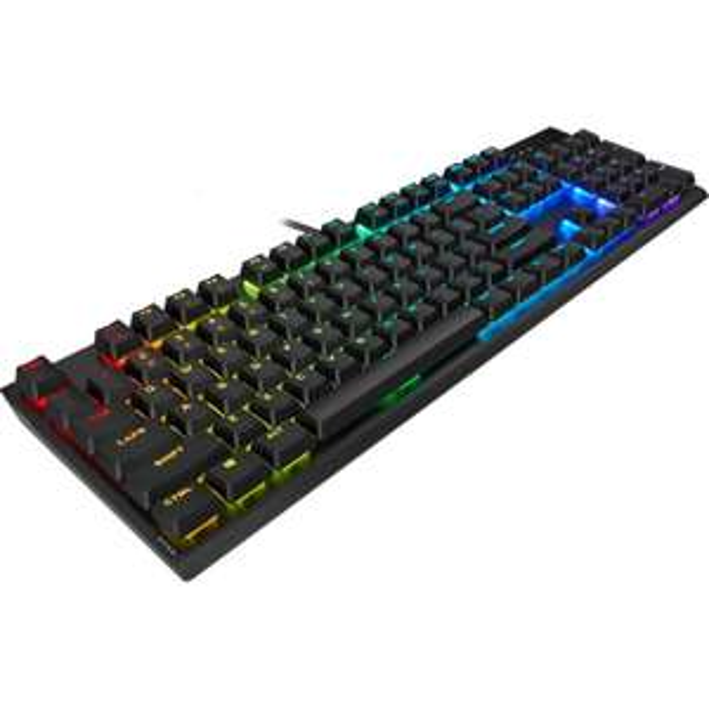 Corsair K60 RGB PRO Low Profile Mechanische Tastatur (Cherry-Switches, individuelle RGB-Beleuchtung, Alugehäuse, 441x31x137mm)