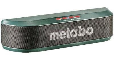 Metabo Bluetooth Lautsprecher inkl. AUX und USB Anschluss (657019000)