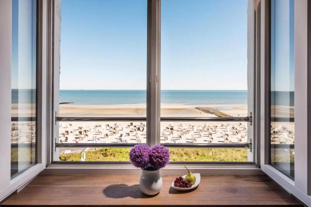 Wangerooge: 4* Strandhotel Gerken - 2 Nächte Doppelzimmer für 2 Personen inkl. Frühstück, Dinner, Wein, Spa / gratis Storno / bis März 22