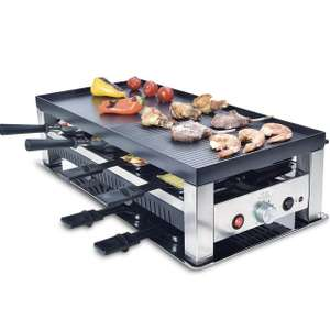 [Amazon] Solis Grill 5 in 1, Raclette/ Tischgrill/ Wok/ Crêpes/Pizza, 8 Personen