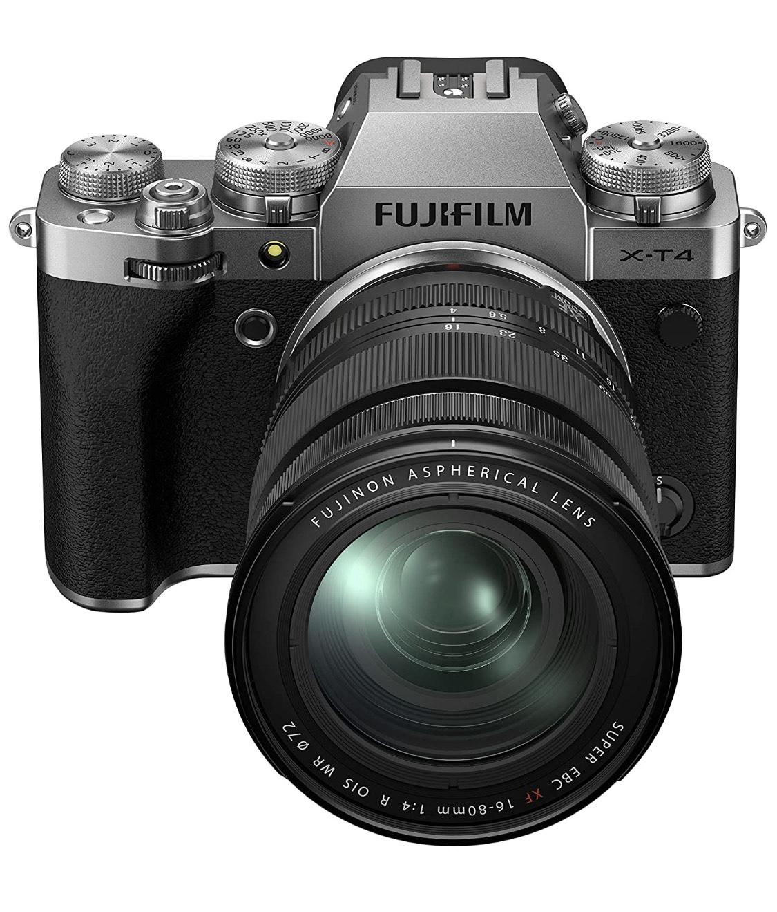 Fujifilm X-T4 mit 16-80mm objektiv nur in Silber