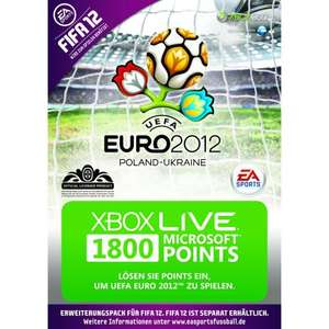 Amazon: Xbox Live 2200 Points + 1 Monat Xbox Live Gold EUR 17,11