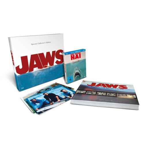 Der weisse Hai - Steelbook / Special Collector's Edition mit Bildband (Blu-ray) @mediadealer