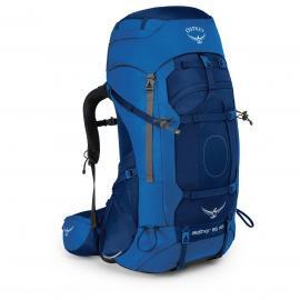 (Markenkoffer) Osprey Aether AG 85 Trekkingrucksack (Neptune Blue oder Ariondack Green)