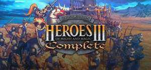 Heroes of Might and Magic III (HOMM3) - Complete 2,49€ / Heroes of Might and Magic V (HOMM5) - Complete 5,00€