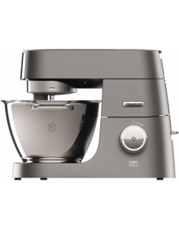 KENWOOD KVC7350S Chef Titanium Küchenmaschine inkl. 6 Zubehörteile Silber