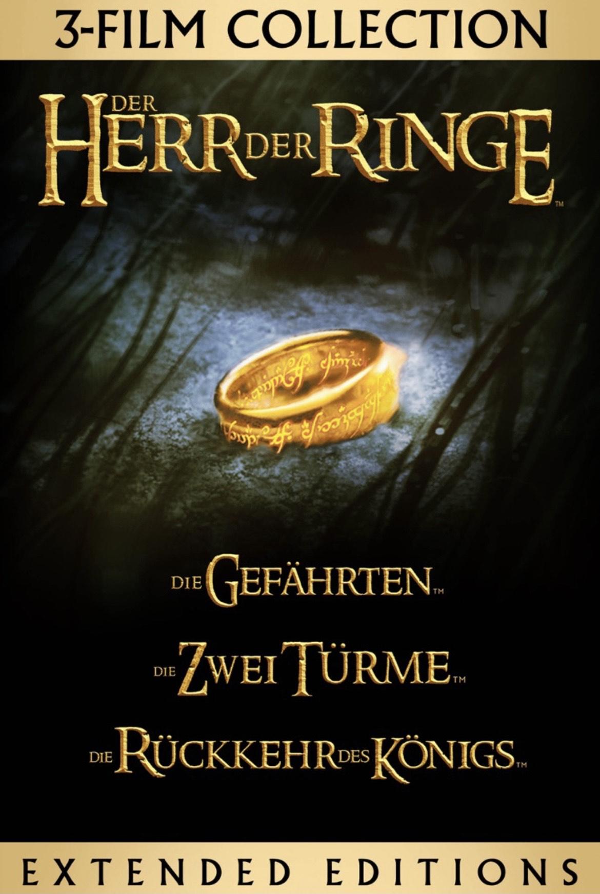 [iTunes] Der Herr der Ringe: Extended Edition Trilogie 4K