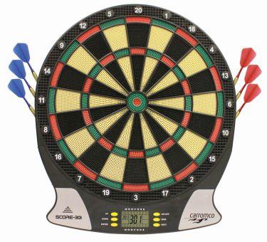 Carromco Elektronisches Dartboard Score 301 für 19,94€ inkl. Versand (Mifus)