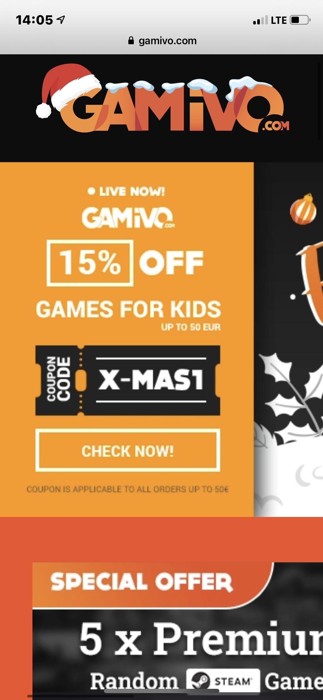 15% Gutschein bei Gamivo für ausgewählte Produkte ( Fifa 2021 ) PS4, XBOX, Steam