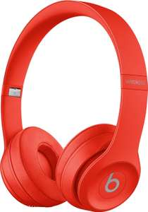 Beats by Dr. Dre Solo3 Wireless On-Ear-Kopfhörer rot (Bluetooth, ~40h Akkulaufzeit, Micro-USB, Klinke, Mikrofon, faltbar, 215g)