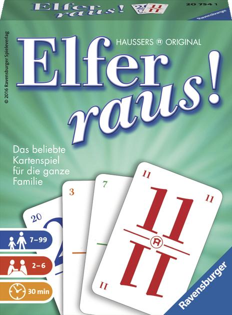 [rossmann OFFLINE/amazon PRIME] Gesellschaftsspiel Kartenspiel Elfer raus für 6,81€ (mit 10%-Coupon 6,13€; 2-5Sp. ab 7 J.) /amazon 7,49€