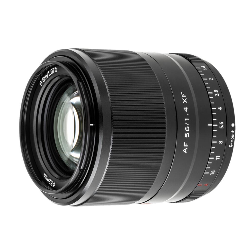 Viltrox 56mm F1.4 XF Porträtobjektiv mit Autofokus APS-C-Format für Fujifilm E-Mount [UK]