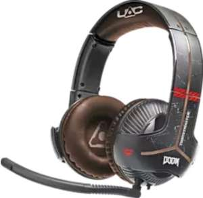 THRUSTMASTER Y-350X Doom Edition (Xbox One / PC) Gaming-Headset Schwarz/Rot