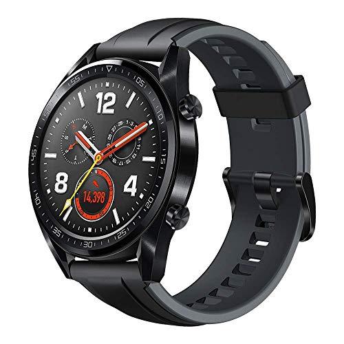Huawei Watch GT Sport Smartwatch (46 mm Amoled Touchscreen, GPS, Fitness Tracker, Herzfrequenzmessung uvm...)