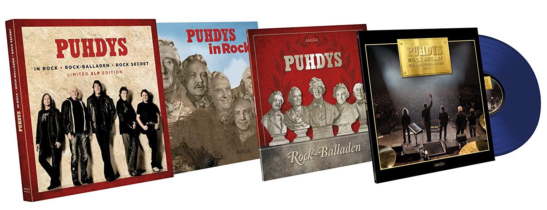 Puhdys – Rock & Balladen (Limited Edition) (5LP) (+ 12-seitiges, LP-großes Foto-Booklet)