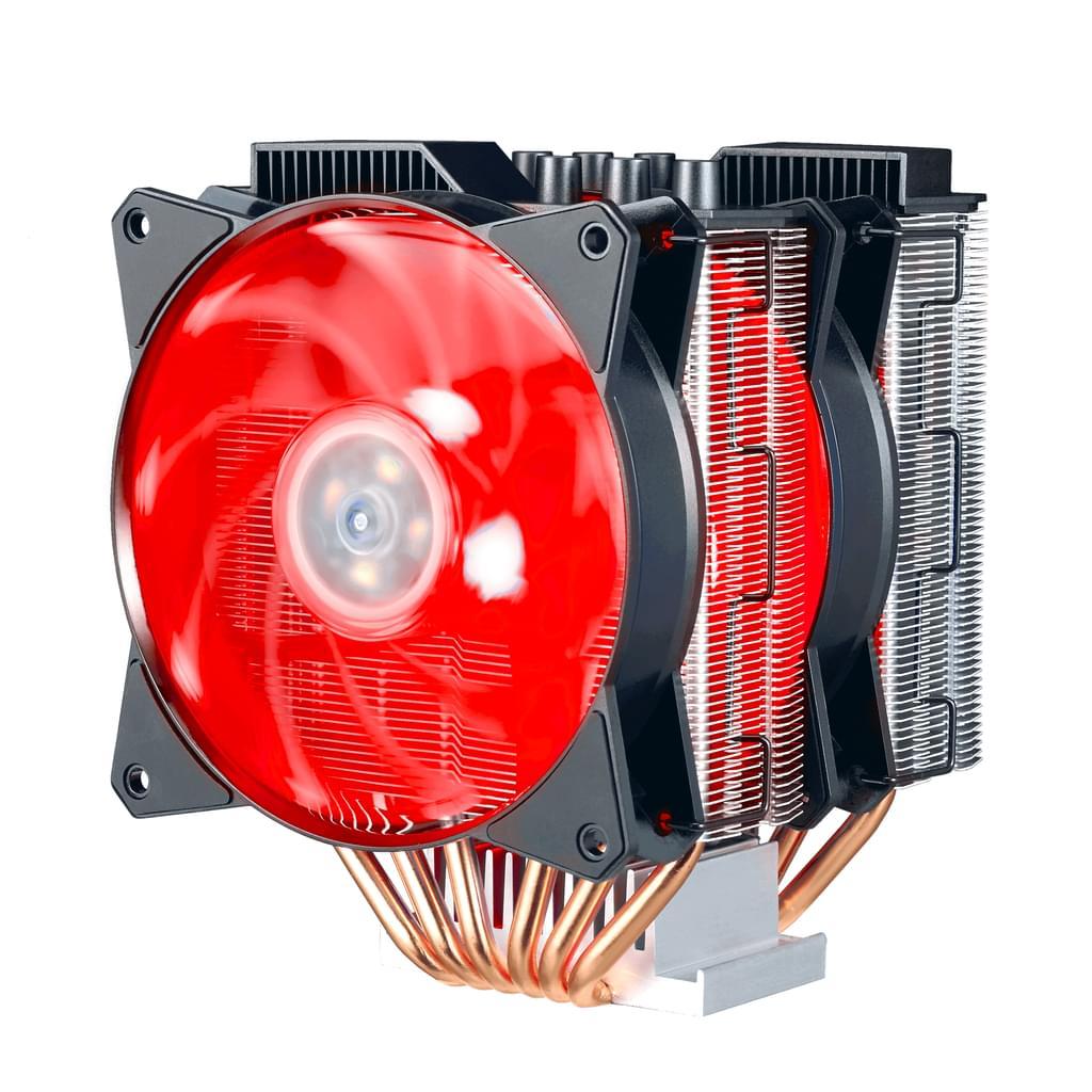 Cooler Master MasterAir MA620P für AMD und Intel Prozessoren mit RGB-LEDs (CPU Kühler)