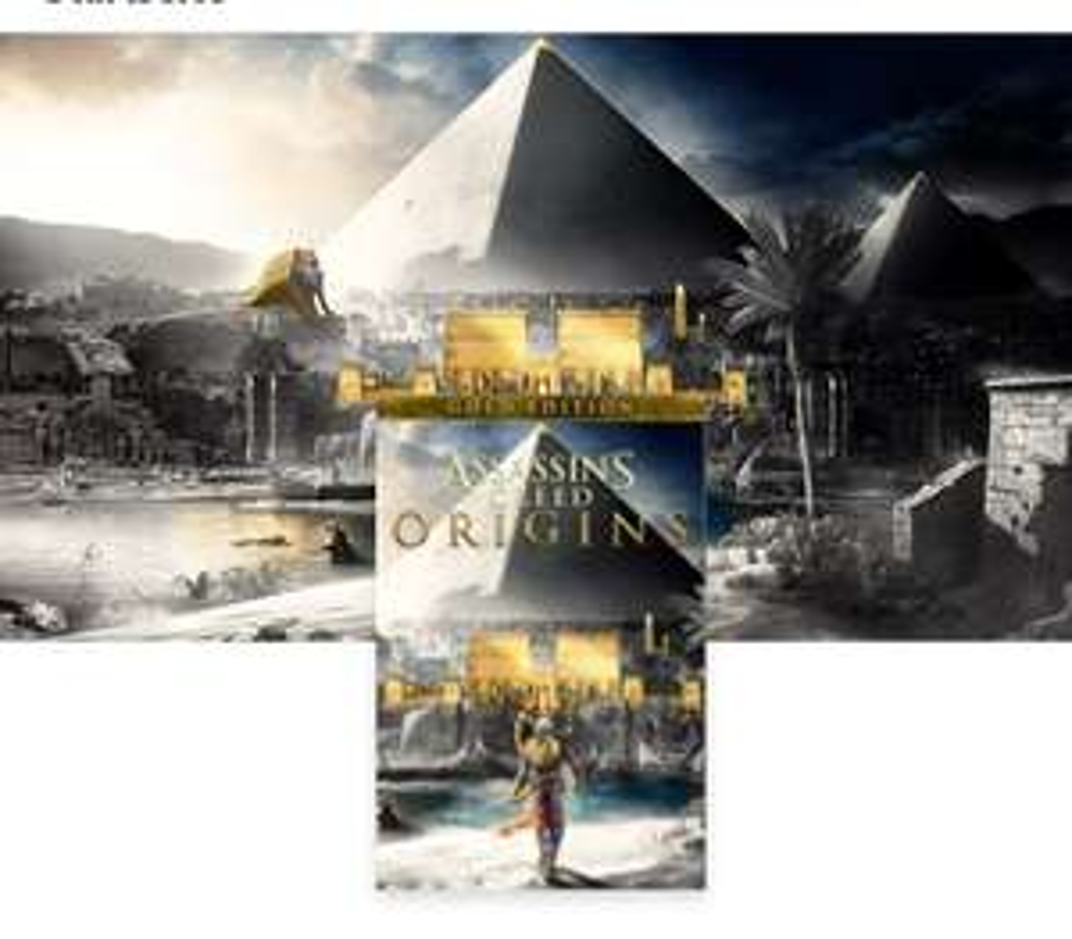 Assassin's Creed Origins - key Gold Edition Xbox