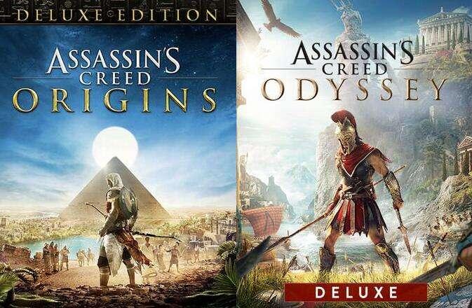 [PC Epic Sale] Assassin's Creed Origins Deluxe Edition für 5.39€ & AC Odyssey Deluxe Edition für 9.99€ & more AC games