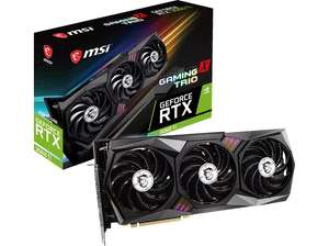 [Media Markt] MSI GEFORCE RTX 3060 TI GAMING X TRIO (V390-010R) (NVIDIA, Grafikkarte)
