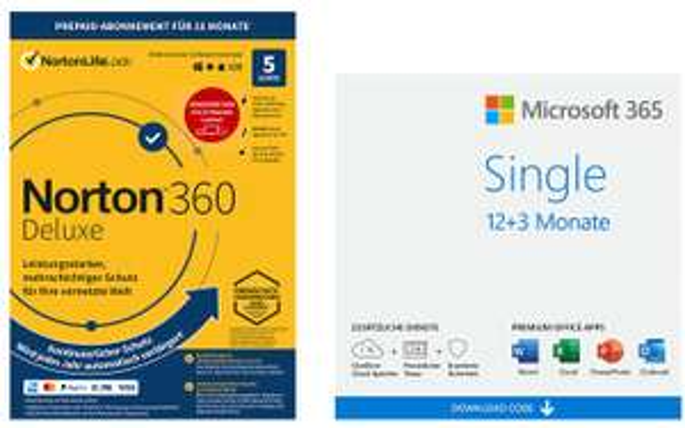 NBB-Wochenangebote [KW52]: z.B. 15 (!) Monate Microsoft 365 Single (1 Gerät) + Norton 360 Deluxe (5 Geräte) | Adobe Photoshop Elements 2021