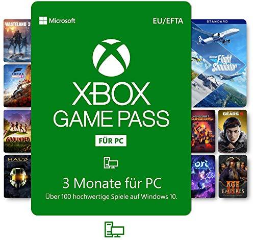3 Monate Xbox Game Pass für PC (Amazon)