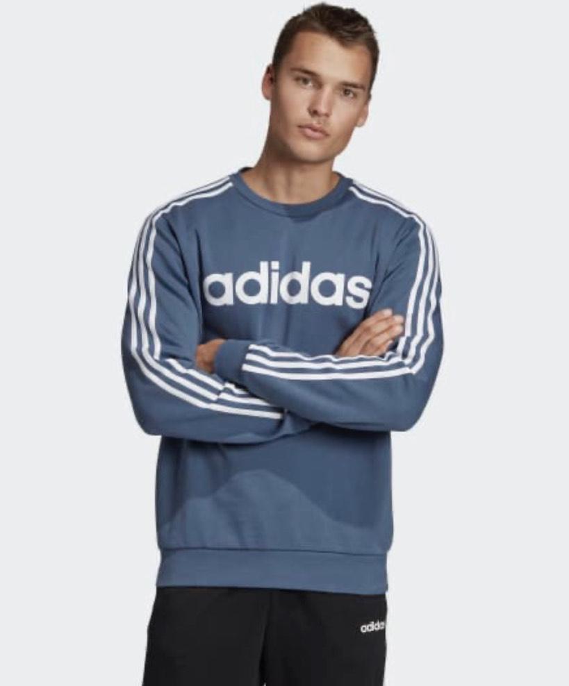 Adidas Essentials 3-Streifen Sweatshirt   mit CB 21,42€