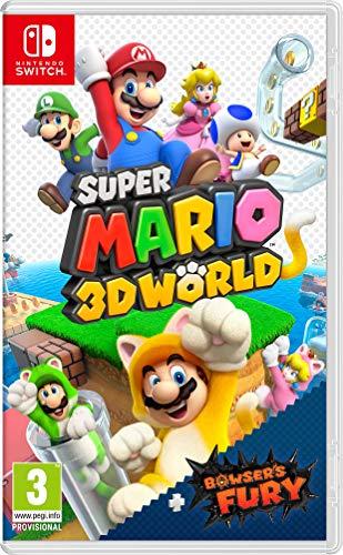 Super Mario 3D World + Bowser's Fury - Nintendo Switch [vorbestellen][Amazon FR]