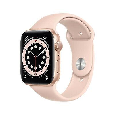Apple Watch Series 6 GPS 40mm Silber Rot Weiss Rosa