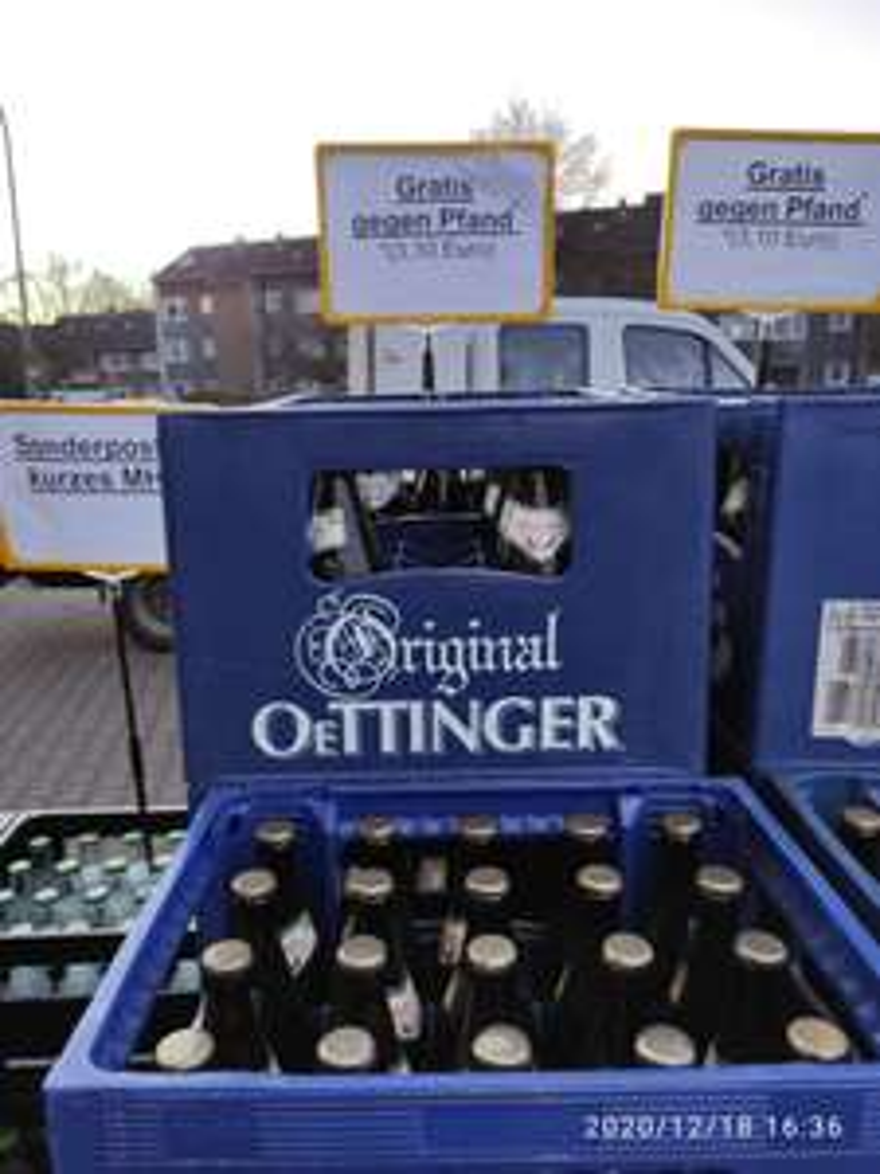 Lokal (Essen, NRW): Kasten Oettinger alkoholfrei für 0,00€ bei Trinkgut (weitere Angebote: Afri Cola, Jim Beam, Bier)