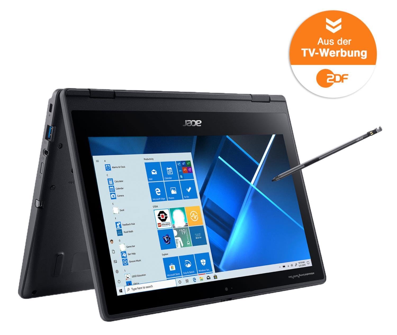 Acer TravelMate Spin B3 mit Stift