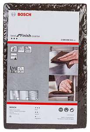 [Amazon Prime] Bosch Professional Schleifvlies Best for Finish Coarse (Feinheitsgrad: grob, 152 x 229 mm, Zubehör Handschleifen)