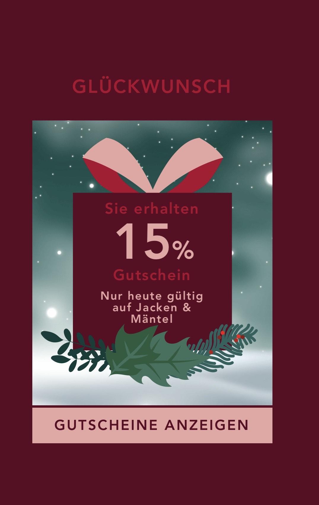 BestSecret 15% auf Jacken und Mäntel zb. Wellensteyn oder Strellson