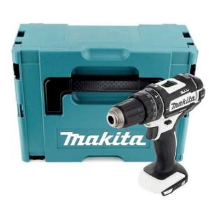 Makita DHP 482 ZJW Akku Schlagbohrschrauber 18V 62Nm im Makpac (ohne Akku und Ladegerät) für 79,90€ [Contorion]