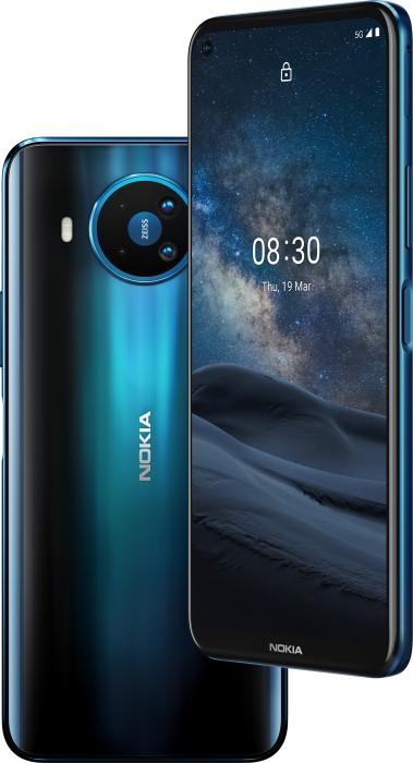 "Nokia 8.3 5G 8/128GB polar night (6.81"" FHD+, HDR10, Snapdragon 765G, 64MP Quadcam mit Zeiss-Optik, NFC, 4500mah, AnTuTu 325k)"