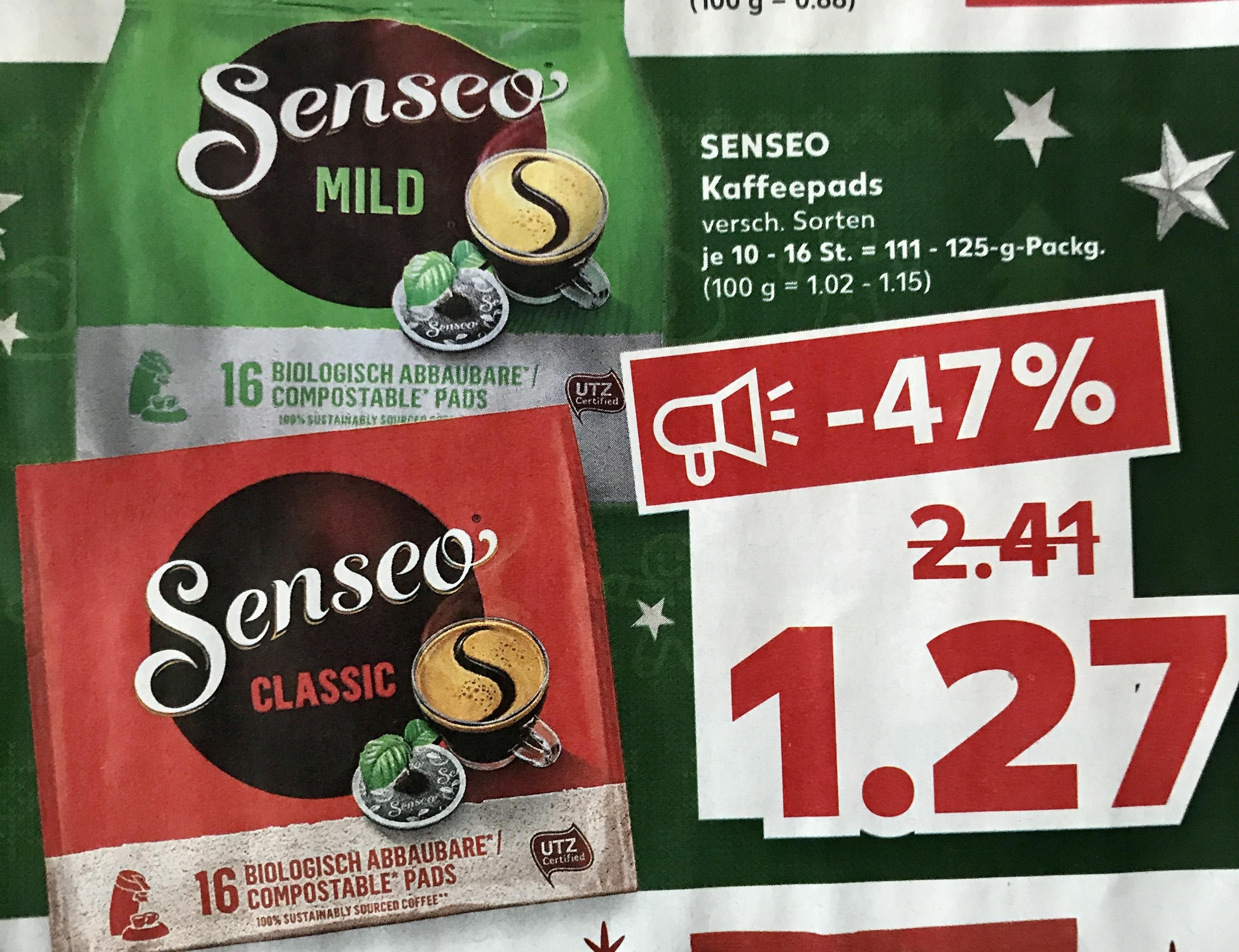 SENSEO Kaffeepads | verschiedene Sorten | Kaufland ️