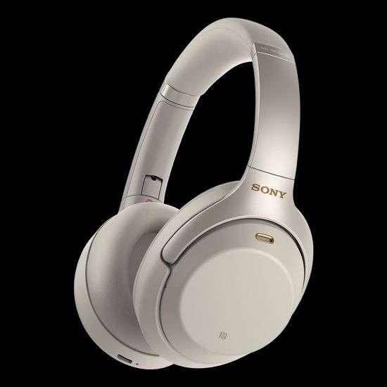 SONY WH-1000XM4 Noise Cancelling, Over-ear Kopfhörer Bluetooth Silber