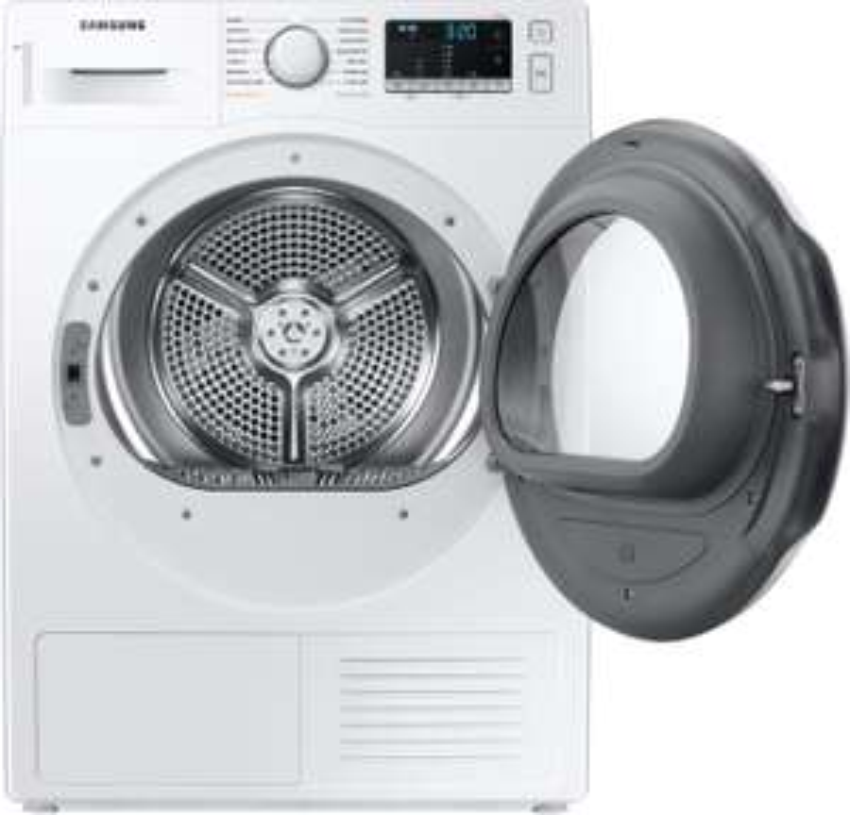 Samsung DV80TA020TE Wärmepumpentrockner (A++, 8kg, 14 Programme, Schontrommel, Trommelbeleuchtung, 65dB, 49kg)