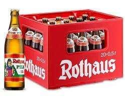 Rothaus Pils, 20 x 0,5 Liter für 12,86 Euro [Netto MD / regional] und für 13,49 Euro [Real / regional]