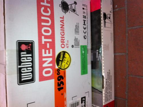 [lokal: Hornbach Dortmund]: Weber One Touch 47 mit Beistelltisch für 75 €